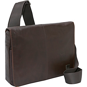 Kilkenny Leather iPad / Netbook Messenger (Brompton) Brown