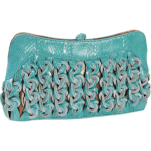 Katherine Kwei Isabel Watersnake Convertible Lady - Clutch