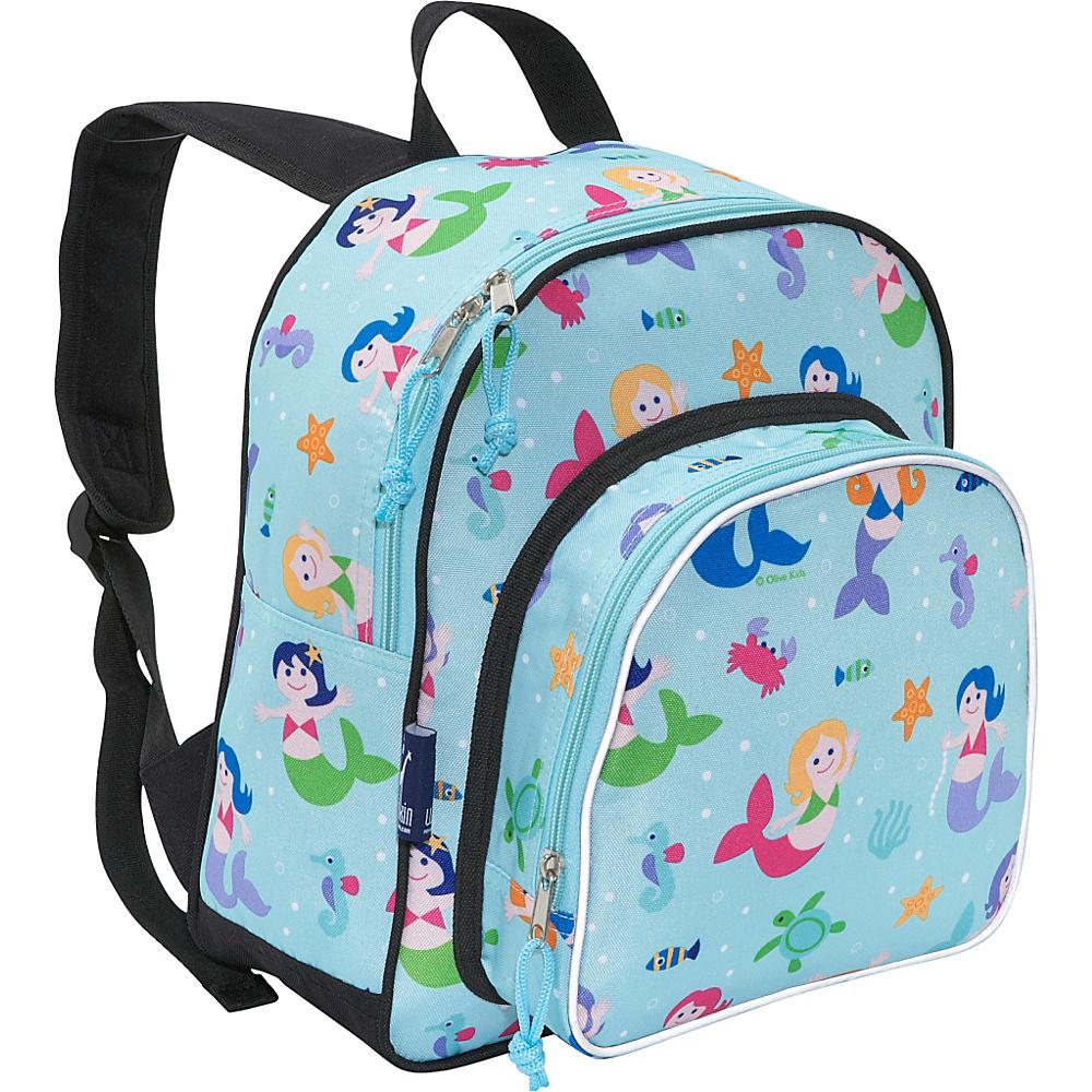 Wildkin Olive Kids Mermaids Pack n Snack - Olive Kids - Backpacks, Everyday Backpacks