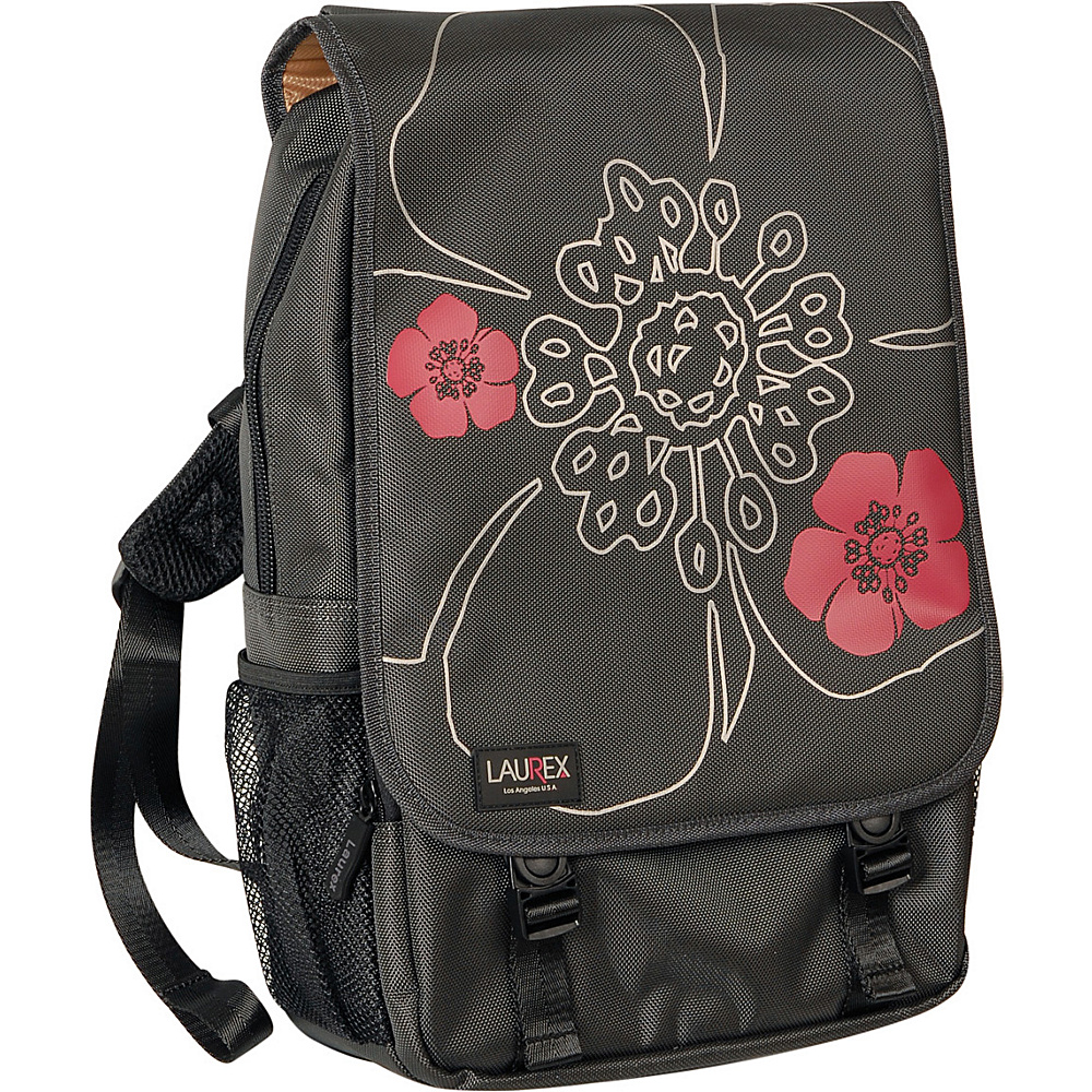 Laurex 15.6 Laptop Backpack Gun Metal