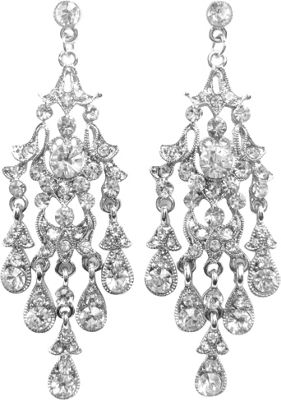 Bling by Wilkening Silver Gina Chandeliers