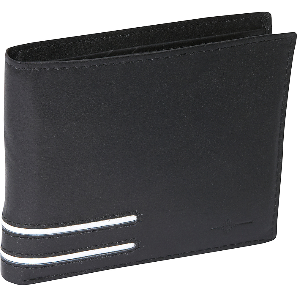 Buxton Luciano Credit Card Billfold - RFID - Black - Work Bags & Briefcases, Men's Wallets