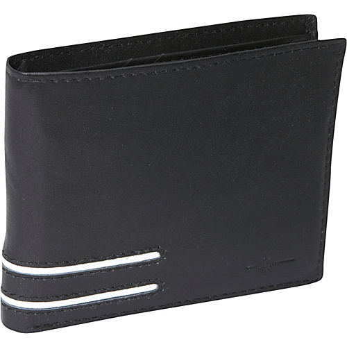Buxton Luciano Credit Card Billfold - RFID - Black