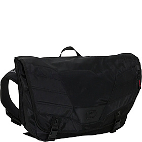 Pagoda L Laptop Messenger Black