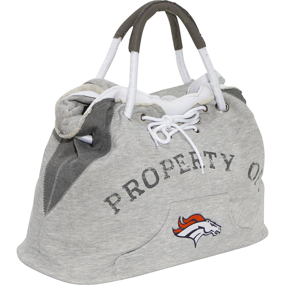 Littlearth Hoodie Tote - NFL Teams Denver Broncos - Littlearth Fabric Handbags - Handbags, Fabric Handbags