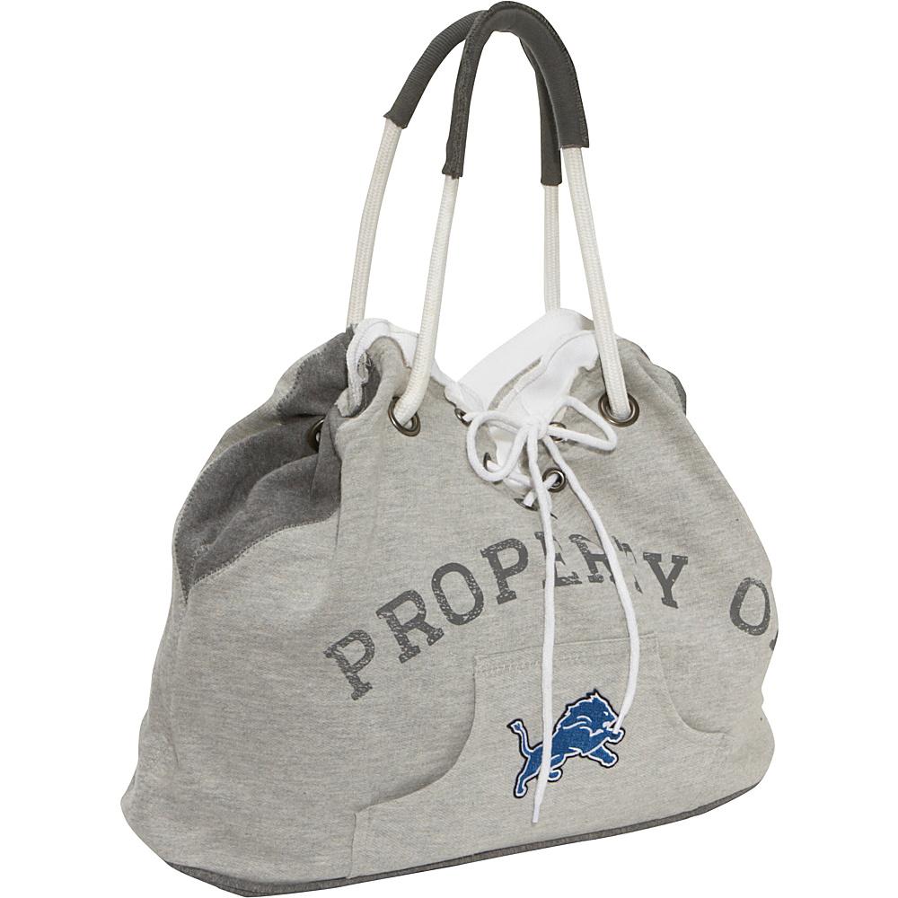 Littlearth Hoodie Tote - NFL Teams Detroit Lions - Littlearth Fabric Handbags - Handbags, Fabric Handbags