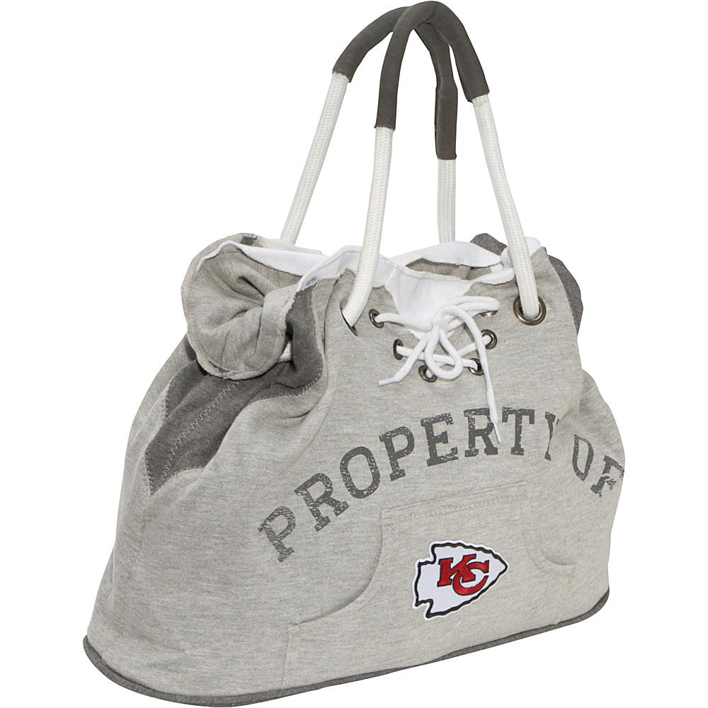 Littlearth Hoodie Tote - NFL Teams Kansas City Chiefs - Littlearth Fabric Handbags - Handbags, Fabric Handbags