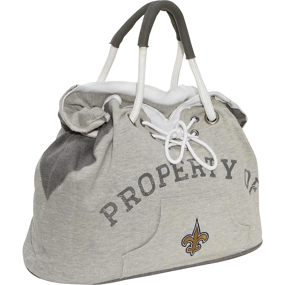 Littlearth Hoodie Tote - NFL Teams New Orlean Saints - Littlearth Fabric Handbags - Handbags, Fabric Handbags