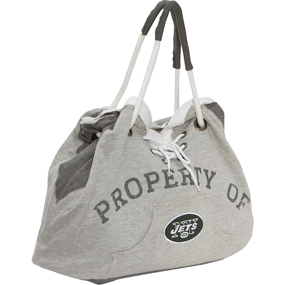 Littlearth Hoodie Tote - NFL Teams New York Jets - Littlearth Fabric Handbags - Handbags, Fabric Handbags