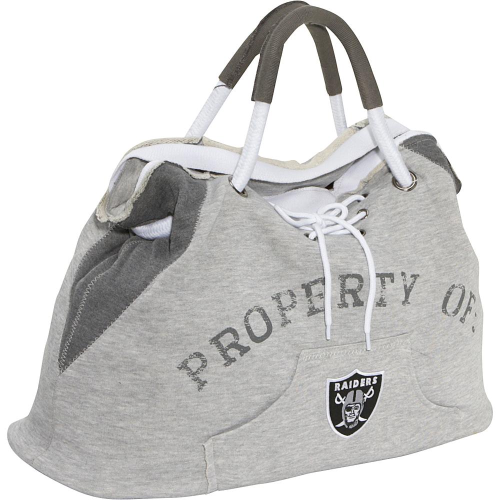 Littlearth Hoodie Tote - NFL Teams Oakland Raiders - Littlearth Fabric Handbags - Handbags, Fabric Handbags
