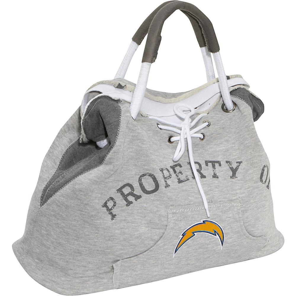 Littlearth Hoodie Tote - NFL Teams San Diego Chargers - Littlearth Fabric Handbags - Handbags, Fabric Handbags