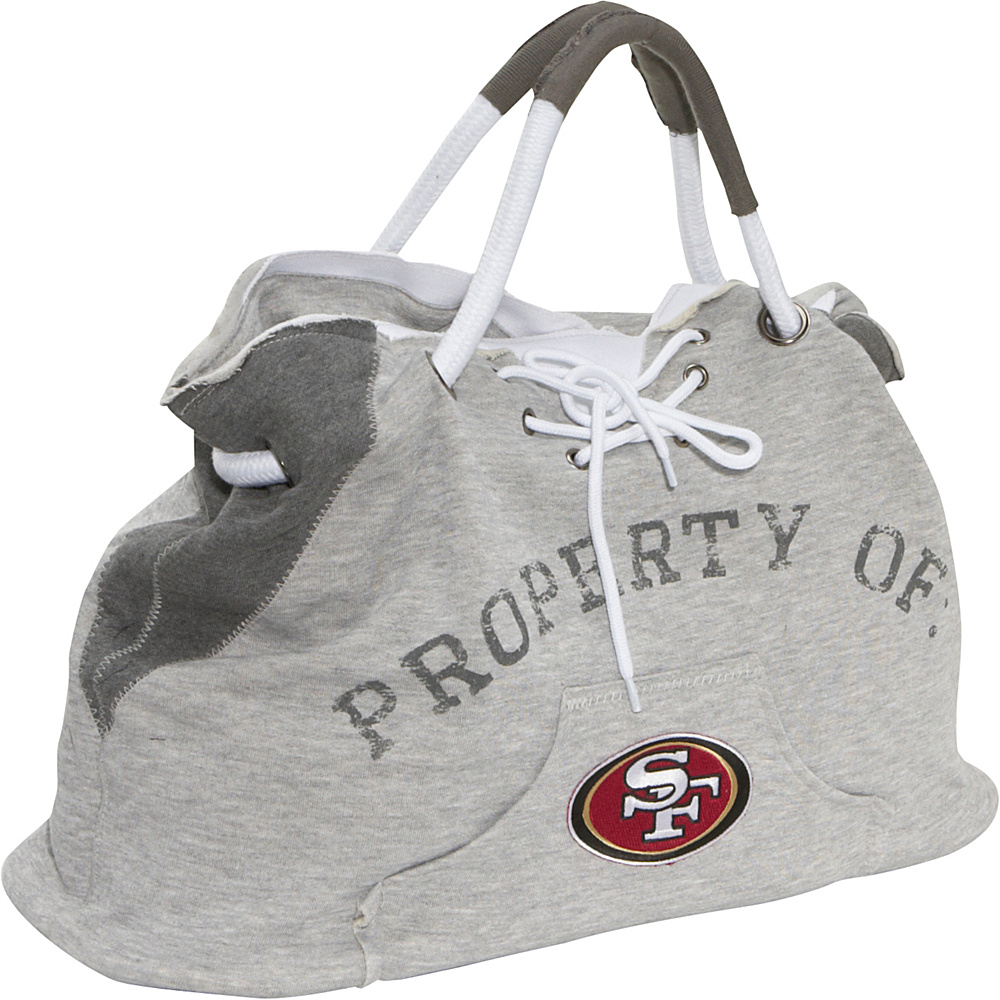 Littlearth Hoodie Tote - NFL Teams San Francisco 49ers - Littlearth Fabric Handbags
