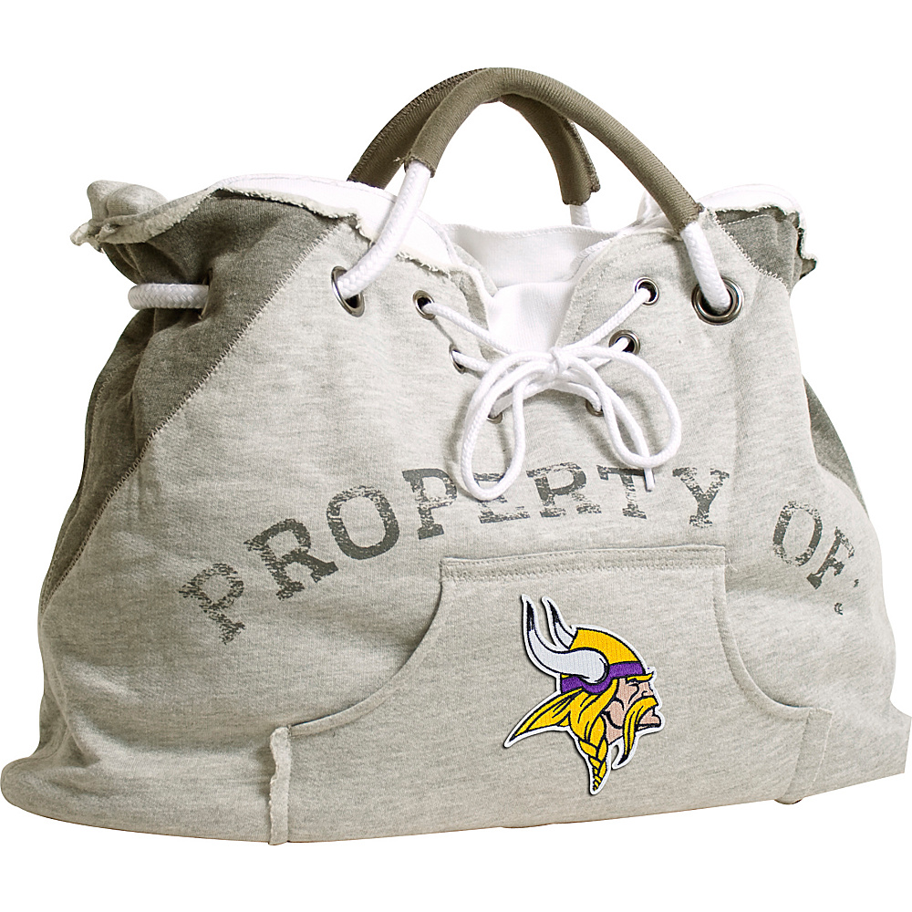 Littlearth Hoodie Tote - NFL Teams Minnesota Vikings - Littlearth Fabric Handbags - Handbags, Fabric Handbags