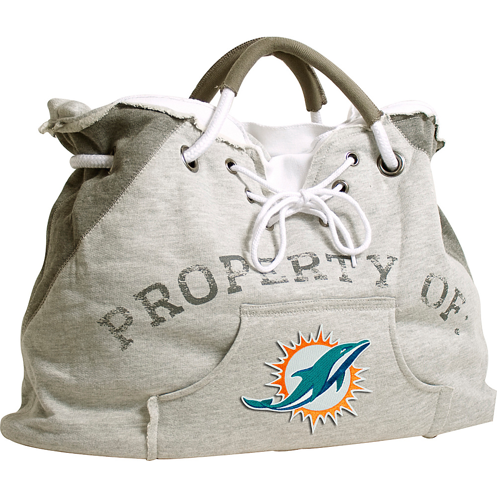 Littlearth Hoodie Tote - NFL Teams Miami Dolphins - Littlearth Fabric Handbags - Handbags, Fabric Handbags
