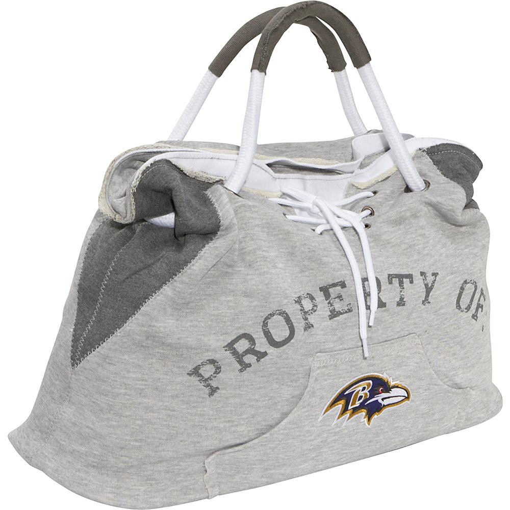 Littlearth Hoodie Tote - NFL Teams Baltimore Ravens - Littlearth Fabric Handbags - Handbags, Fabric Handbags