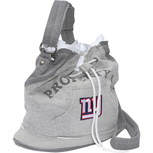 Littlearth NFL Hoodie Duffel Grey/New York Giants New York Giants - Littlearth Fabric Handbags