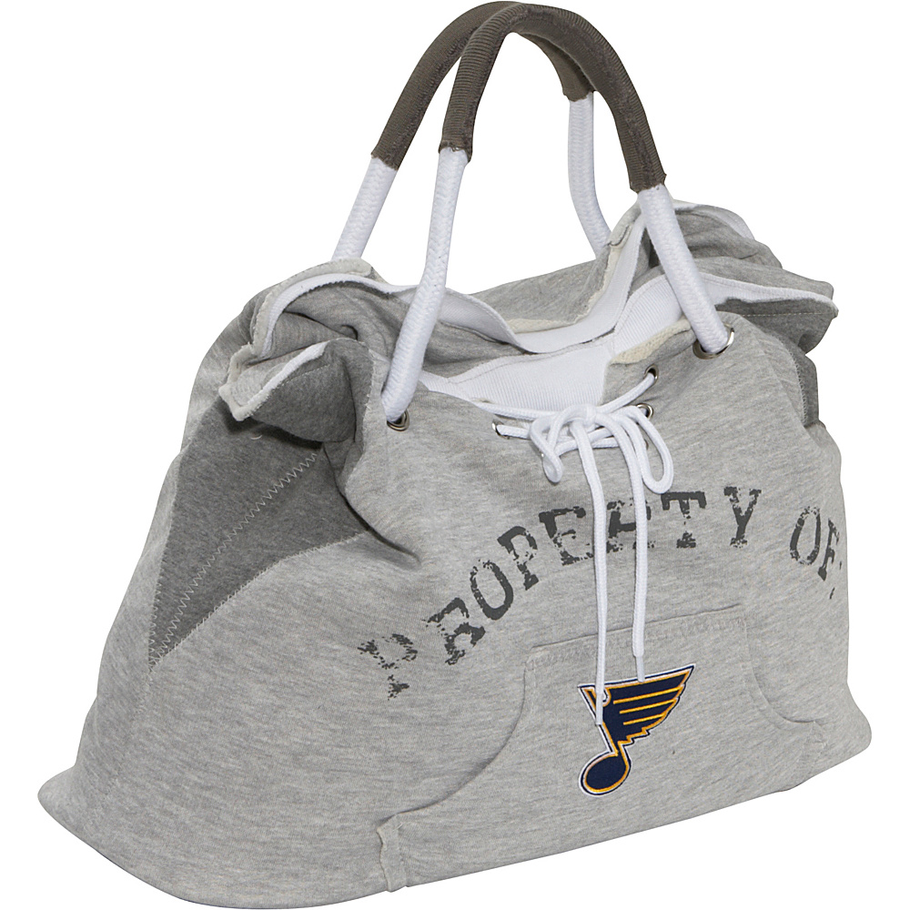 Littlearth NHL Hoodie Tote Grey/St. Louis Blues St. Louis Blues - Littlearth Fabric Handbags - Handbags, Fabric Handbags