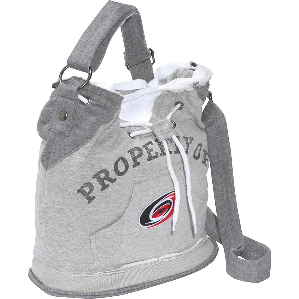 Littlearth NHL Hoodie Duffel Grey/Carolina Hurricanes Carolina Hurricanes - Littlearth Fabric Handbags