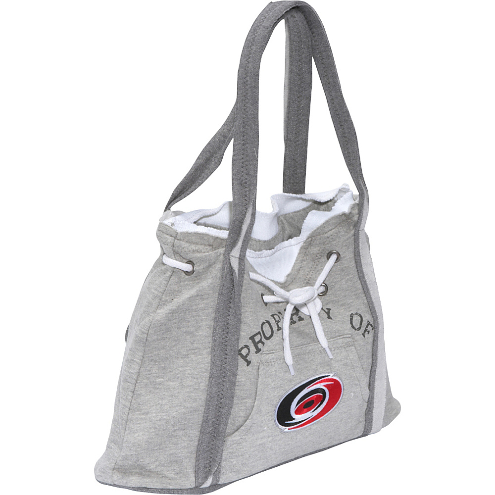 Littlearth NHL Hoodie Purse Grey/Carolina Hurricanes Carolina Hurricanes - Littlearth Fabric Handbags - Handbags, Fabric Handbags