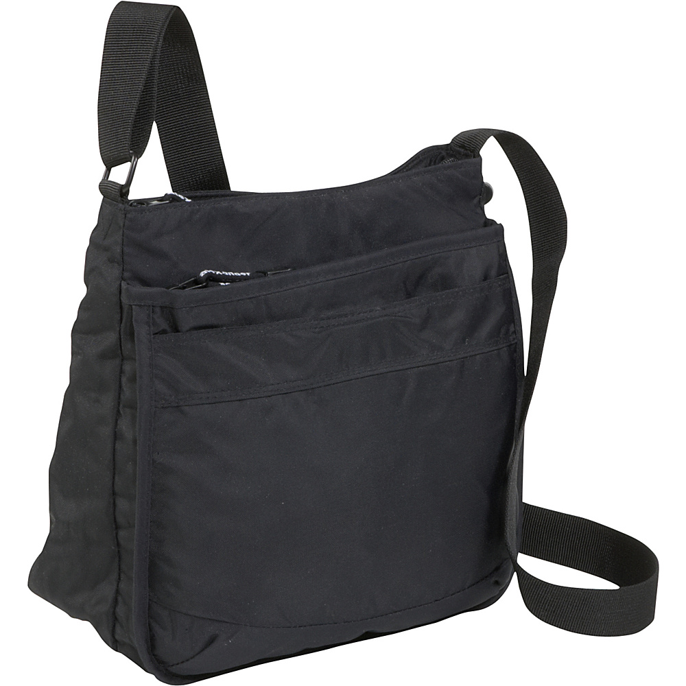 Derek Alexander Top Zip Multi Comp Bag - Cross Body - Handbags, Leather Handbags