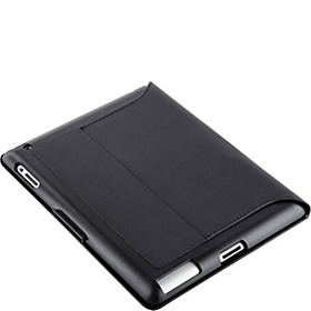 iPad 2 Vegan Leather Fitfolio Black Leather