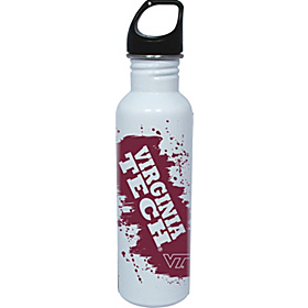 Virginia Tech Hokies Water Bottle White