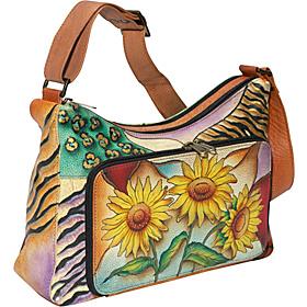 Anuschka Twin-Top East-West Organizer: Sunflower Safari 233286_1_1?resmode=4&op_usm=1,1,1,&qlt=95,1&hei=280&wid=280