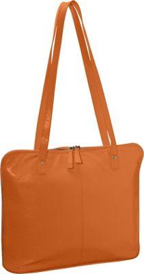 Latico Leathers Roslyn Shoulder Bag Orange - Latico Leathers Leather Handbags
