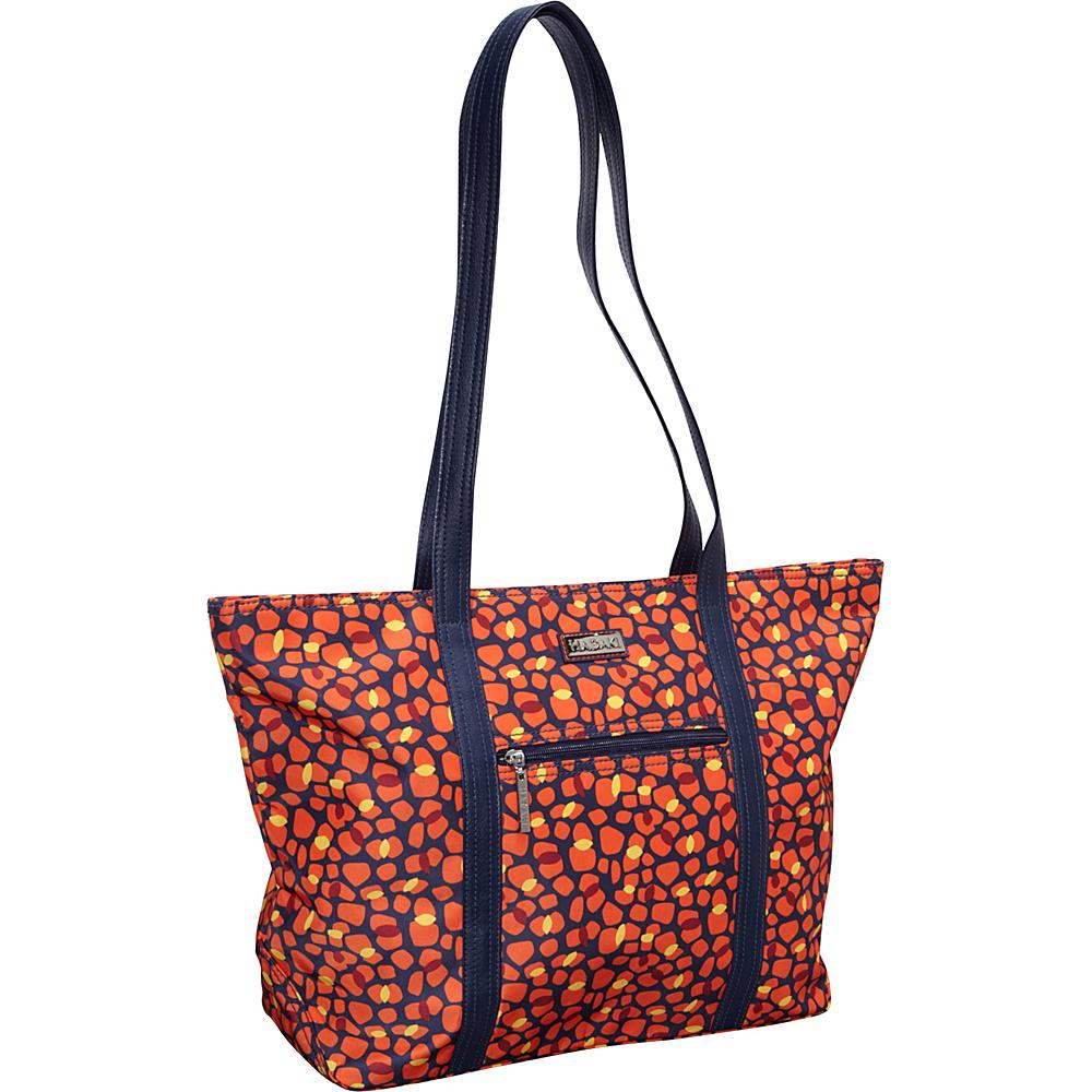 Hadaki Cosmopolitan Tote Arabesque Pebbles - Hadaki Fabric Handbags - Handbags, Fabric Handbags