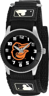 Game Time Rookie Black - MLB Baltimore Orioles  Bird logo - Game Time Watches 10461285