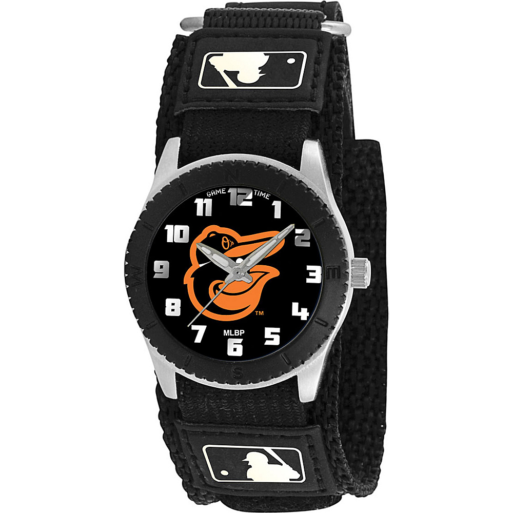 Game Time Rookie Black - MLB Baltimore Orioles  Bird logo - Game Time Watches - Fashion Accessories, Watches