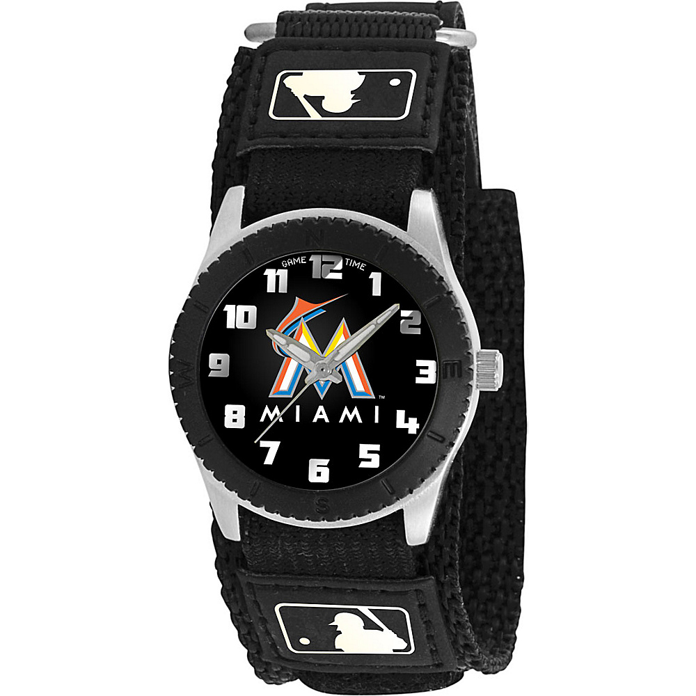 Game Time Rookie Black - MLB Miami Marlins - Game Time Watches - Fashion Accessories, Watches