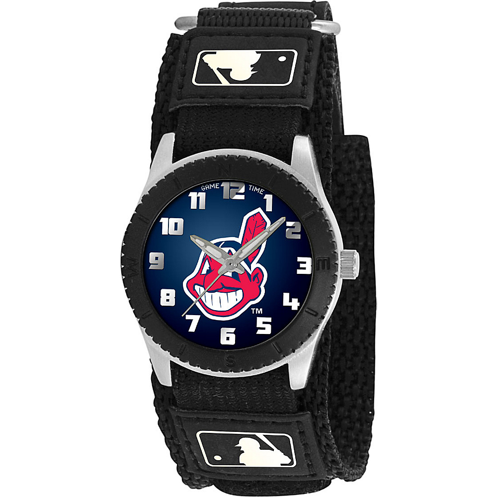 Game Time Rookie Black MLB Cleveland Indians Black Game Time Watches