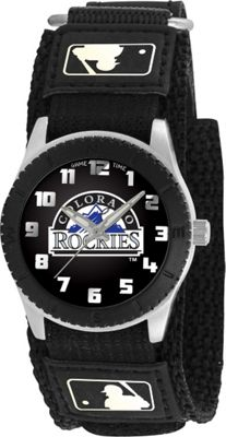 Game Time Rookie Black - MLB Colorado Rockies Black - Game Time Watches