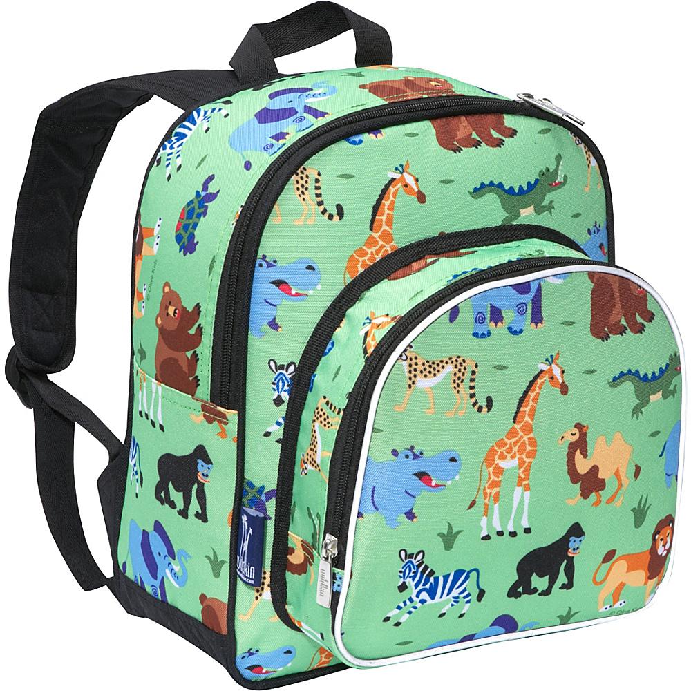 Wildkin Olive Kids Wild Animals Small Pack n Snack - Backpacks, Everyday Backpacks