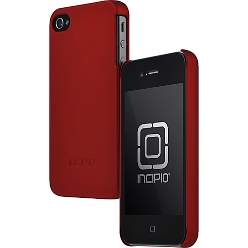 Incipio Feather for iPhone 4/4S - Iridescent Red
