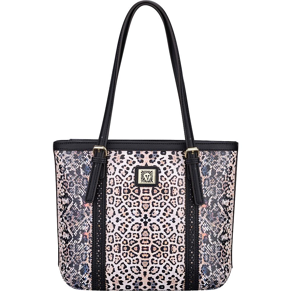 Anne Klein Perfect Tote Small Shopper Pink Multi/Black/Black - Anne Klein Manmade Handbags