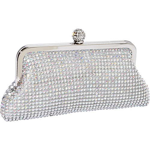J. Furmani Crystal and Metal Mesh Evening Bag AB Stone - J. Furmani Evening Bags
