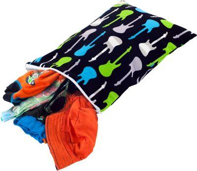 Itzy Ritzy Travel Happens Sealed Wet Bag Medium Rock Star - Itzy Ritzy Diaper Bags & Accessories