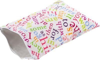 Itzy Ritzy Travel Happens Sealed Wet Bag Medium Sight Word Soup - Itzy Ritzy Diaper Bags & Accessories
