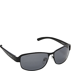 Polarized Combo Frame Sunglasses Black