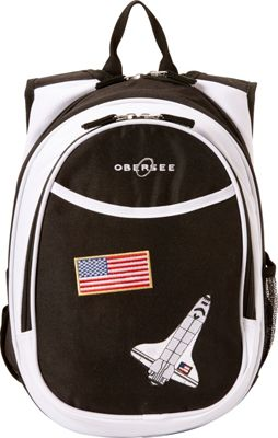 Obersee Kids Pre-School Space Backpack with Integrated Lunch Cooler Space - Obersee Everyday Backpacks