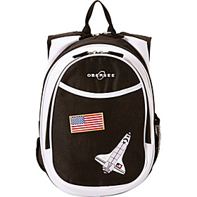 O3 Kids Pre-School Space Backpack with Integrated Lunch Cooler Space