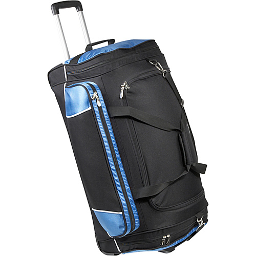 "Bellino 30"" Rolling Duffel Blue - Bellino Travel Duffels"