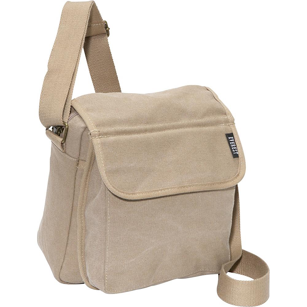 Everest Canvas Messenger Khaki - Everest Messenger Bags - Work Bags & Briefcases, Messenger Bags