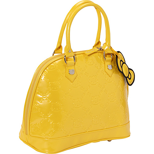 Loungefly Hello Kitty Yellow Embossed Bag Bright Yellow - Loungefly Junior Handbags