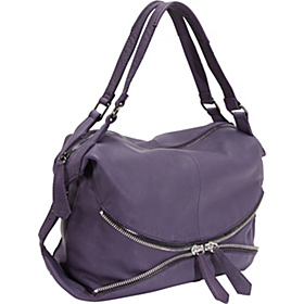 Alex Zip Hobo Violet