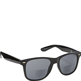 Wayfarer Fashion Sunglasses Black with Vision Power 3.0 Black