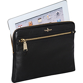 Linley Tablet Zip Around Black