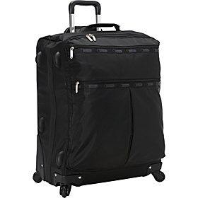 24'' 4 Wheel Luggage Black TR